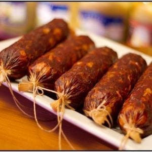 Hot Beef Kulin Spicy Beef Salami